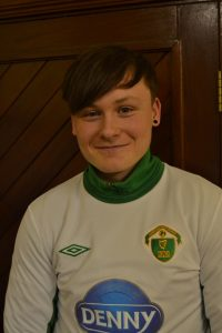 Name; Dillon Robinson DOB; 13-03-2000 Poition; ST Previous Club; Tralee Dynamos Fav Player; Thierry Henry Fav Club; Arsenal