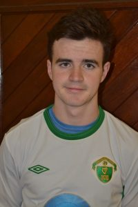 Name; John Hayes DOB; 23-06-2001 Position; CM Previous Club; Carrig Celtic Fav Player; Ronaldo Fav Club; Man Utd