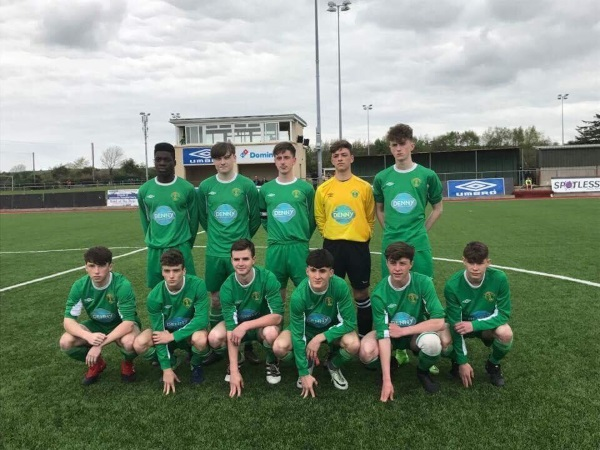 Kerry Starting team before they defeated Cabinteely Fc in the SSE Airtricity U17 League on Sunday 23rd April 2017 at Mounthawk Park