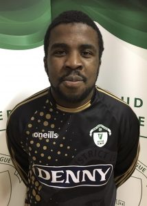 Name: David Oba Previous Club: St Brendans Park Squad Number: