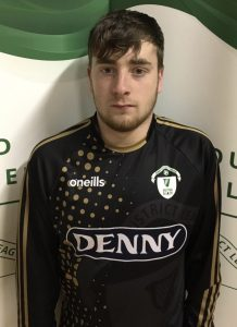Name: Jack Sheahan Previous Club: Listowel Celtic Squad Number: