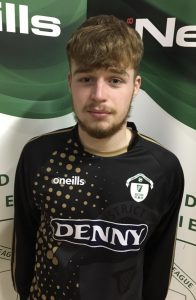 Name: Patrick Dowling Previous Club: Tralee Dynamos Squad Number: