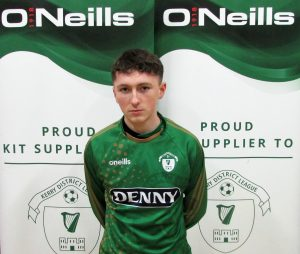 Name; Patrick O'Connor  Previous Club; Ballyhar Dynamos  Squad Number;