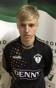 Name: Sebastian Vasiu Previous Club: St Brendans Park Squad Number: