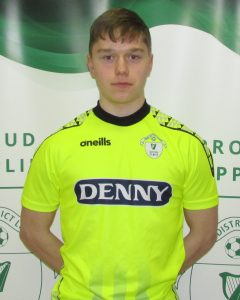Name: Bendix Ergezer  Previous Club: Killarney Athletic  Squad Number: 1