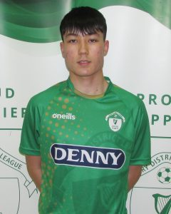 Name: Cian Wright  Previous Club: Dingle Bay Rovers  Squad Number: 8