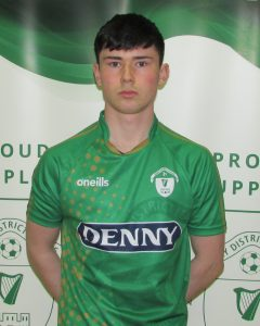 Name: Eddie Ward  Previous Club: Newcastlewest Town Fc  Squad Number: 11