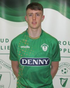 Name: Josh Toomey  Previous Club: Kerry Fc  Squad Number: 6