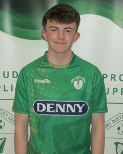 Name: Ryan Guerin  Previous Club: St Brendans Park  Squad Number: 15