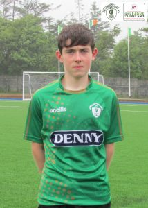 Name: Daire O'Shea Squad Number : 8