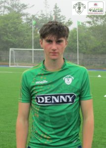Name: Oisin Woulfe Squad Number : 4